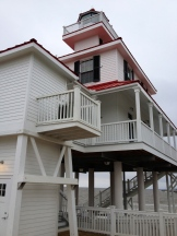 The newly renovated Light House on Lake Pontchartrain
