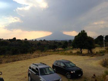 Popocatepetl. The volcano.