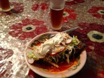Enchilada de Lulu.