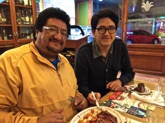 Arturo and son, Gonzalo