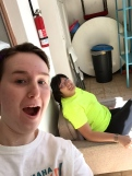 Selfie of Julia and Marcelina