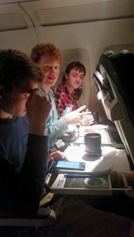 Michael, Hunter, and Anton