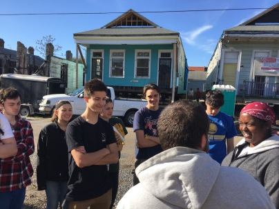 Orientation with Youth Rebuilding New Orleans