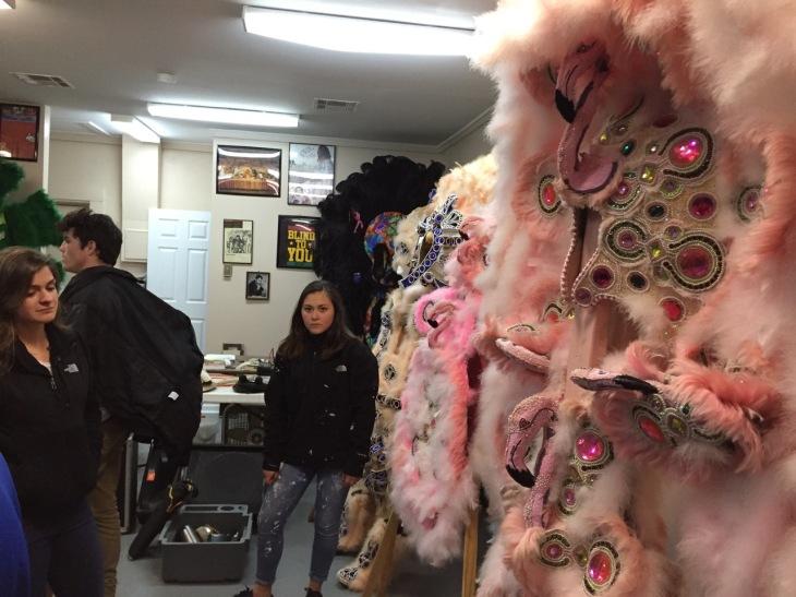 The costumes of David Montana