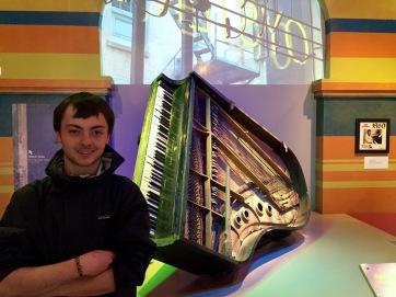 Anton and Fats Domino's Piano
