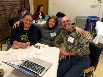 Jan, Dana, Ray: Re-Member Project Team