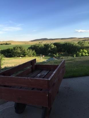 A view of South Dakota