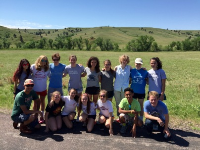 At Custer State Park, South Dakota