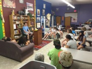At Re-Member, Shalem House, doing introductions.