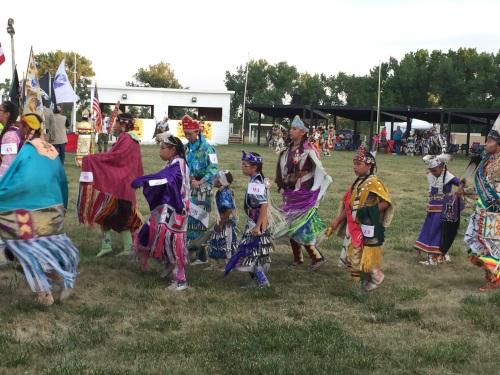 The various dresses and dances of the Lakota at the Powwow.