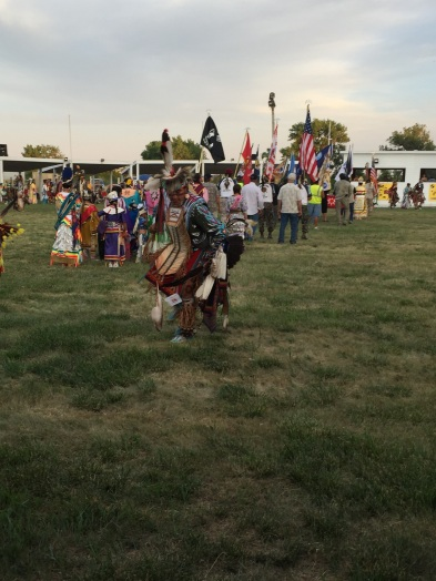 This Powwow honored the Lakota culture and the veterans who fought in the many different wars and conflicts.