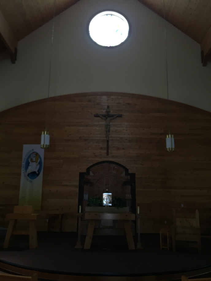 Sanctuary in Red Cloud HS Chapel