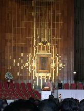 Main altar with Tilma