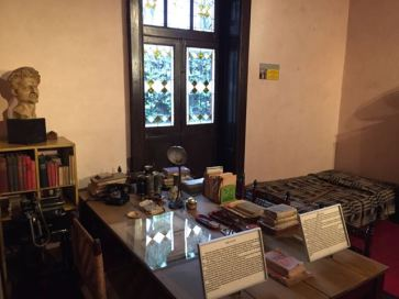 The room in which Trotsky was assassinated
