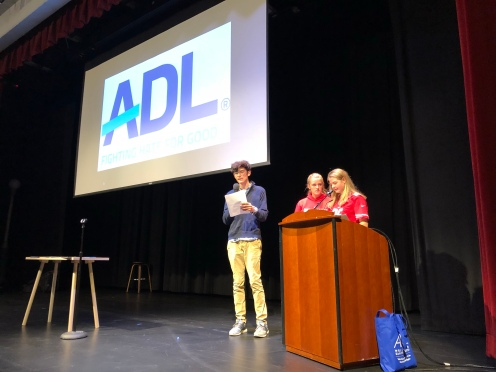 Henry, Anna, Grace of SIA Starting Assembly