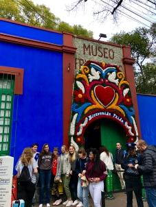 Exiting Frida Kahlo