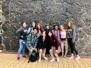 Korean and US Students in Mexico