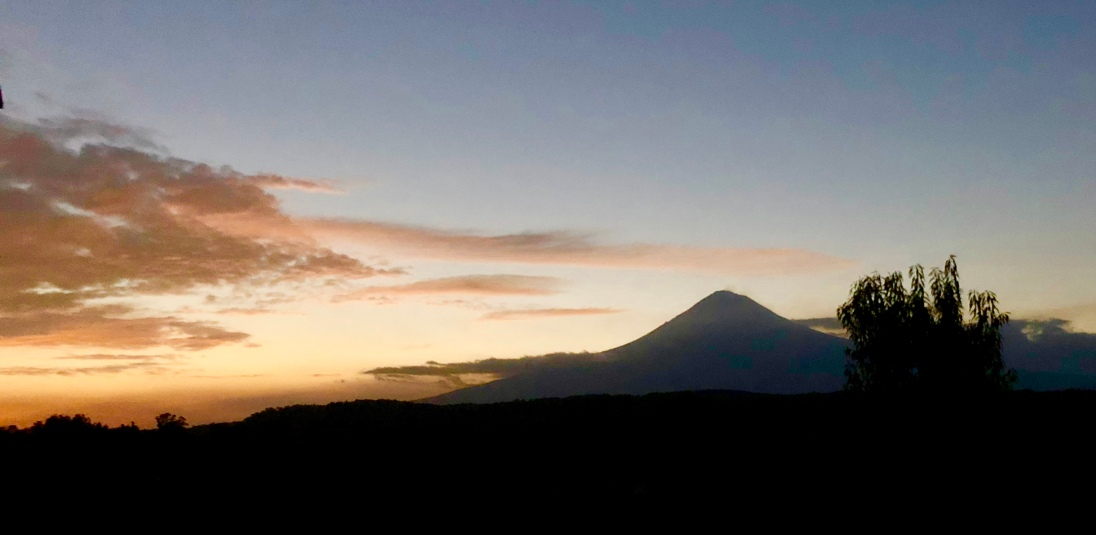 Popocatépetl view from Tecuanipan