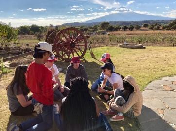 At the Center of Enlaces Comunitarios