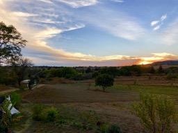 Sunset over Tecuanipan