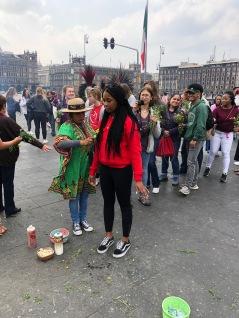 Aztec cleansing ritual