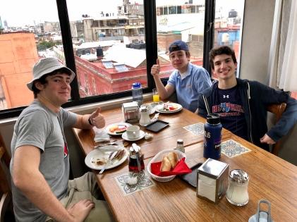 Breakfast at Hotel Canada