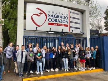 Visiting Sagrado Corazon